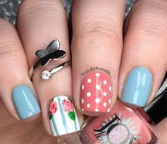 nail art on short nails