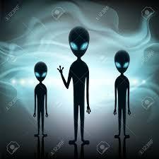 Los Alienígenas Están En El Fondo De Una Nave Espacial. Contacto ...