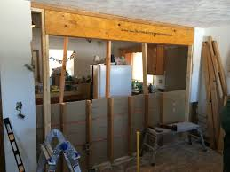 load bearing or not and install a header