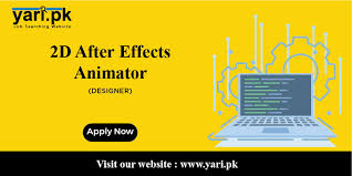 2D After Effect Animator Required | Free Job Posting Site - Yari.pk