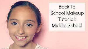 makeup tutorial middle