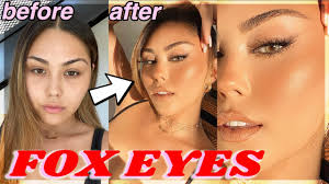 how to fox eye makeup tutorial for