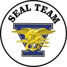 Amazon Com Us Navy United States Navy Seal Team Five Military Veteran Served Window Bumper Sticker Vinyl Decal 3 8 Automotive
