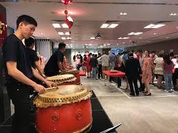 drum opening performance chinese new year