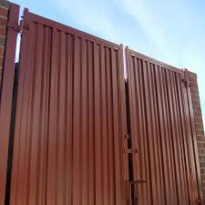 Steel Privacy Panels Metal Privacy Panels Iron Curtain Steel Panels