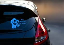 Cookie Monster Inspired Baby On Board Car Decal Sticker Sesame Street Themed Ebay