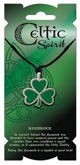 black cord necklace celtic spirit