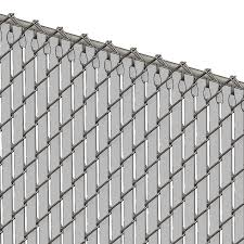 Pds Tl Chain Link Fence Slats Top Lock 4 Foot Gray