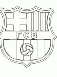 Leuk Voor Kids Sport Voetbal Kleurplaten Fc Barcelona