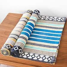 boho retro square diamond carpet for