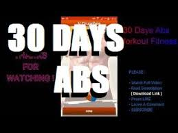 30 days abs workout fitness free