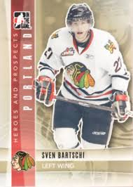 2011-12 ITG Heroes and Prospects Hockey #84 Sven Bartschi Portland  Winterhawks | eBay