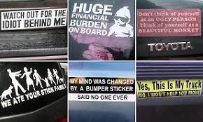 Reddit Users Share Hilarious Bumper Stickers They Ve Seen Daily Mail Online