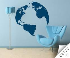 Wall Decal Planet Earth Cutzz