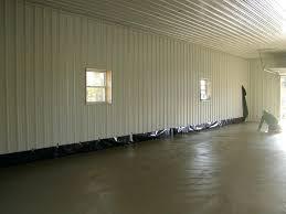 metal interior walls corrugated metal