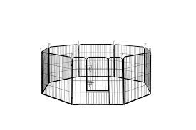 I Pet 8 Panel Pet Dog Playpen Puppy Exercise Cage Enclosure Fence Play Pen Xl Matt Blatt
