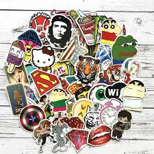 Picavinci Design 100 Sticker Pack Hippies Graffiti Vinyl Decal For Car Helmet Wall Luggage Bumper Snowboard Hoverboards Phone Ryrzo Cheap Wall Art Stickers Cheap Wall Decal From Hairclippersshop 4 31 Dhgate Com