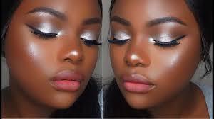 silver eyeshadow tutorial with a twist