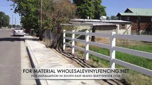 How To Install Vinyl Horse Fence Part 1 Youtube