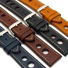 leather watch strap band 24mm 22mm 20mm