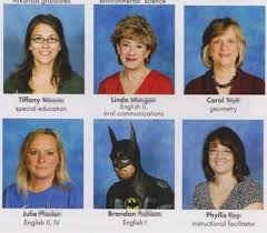 people who hilariously trolled their yearbook photos