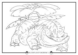 Venusaur Kleurplaten Gratis Printen Kleurplaat Pokemon
