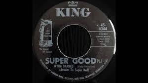 Myra Barnes - Super Good Pt.1 - YouTube