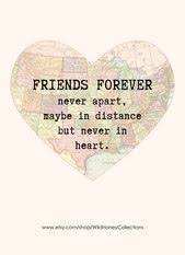 distance quotes friends forever long distance friendship quote
