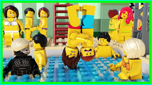 Lego City Ninjago Swimming Pool Fail - YouTube
