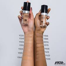 hd makeup forever foundation ings