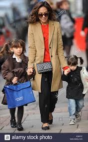 Myleene Klass, Hero Quinn, Ava Bailey Quinn running errands with her Stock  Photo - Alamy
