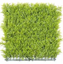 China Anti Uv Artificial Green Plant Foliage Leaf Privacy Garden Hedge Fence Vertical Wall Synthetic Grass China Green Wall And Vertical Garden Price