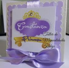 Invitaciones Princesa Sofia Con Jaboncitos 24 90 En Mercado Libre