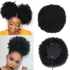 short curly afro wigs natural black
