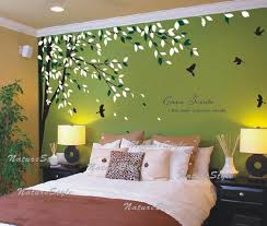 Free Shipping Bedroom Wall Decal Vinyl Wall Decals Birds Wall Sticker Wedding Office Living Room Tree Wall Decal Branch With Flying Bird Wall Decor Living Room Wall Stickers Living Room