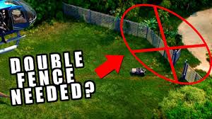 Double Fence Needed Jurassic World Evolution When Life Finds A Way Youtube