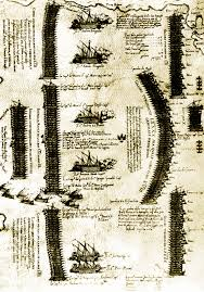 Battaglia di Lepanto - Giovanni Andrea Doria ... genovesi e liguri - il  Caffaro