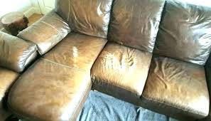 leather sofa ling