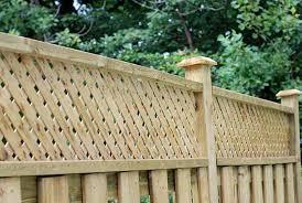 17 Lattice Fence Ideas For Inspiration Trees Com