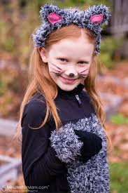 kitty cat makeup for little