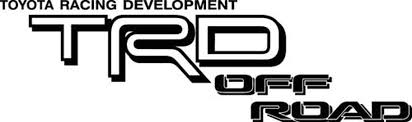 Toyota Car Decals Car Stickers Toyota Trd Off Road Car Decal Anydecals Com