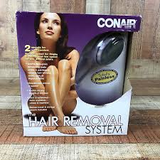 conair hair removal system w dvd extra