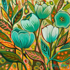 It's All About the Leaves (With images) | Flower art painting ...