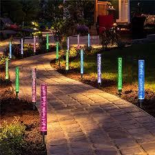 solar garden lights outdoor waterproof