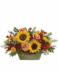 sunflower farm centerpiece in naples fl
