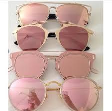 pink sunglasses mirrored sunglasses