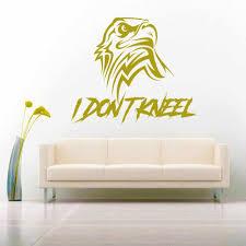 I Don T Kneel American Eagle Vinyl Car Window Decal Sticker