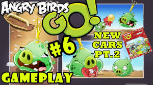 Let's Play Angry Birds Go: Pt. 6 (King Pig, I Summon You) 5 New ...