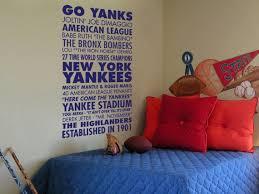 New York Yankees Sports Subway Art Vinyl Wall Decal Etsy