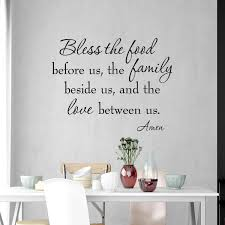 Bless The Food Before Us Wall Quotes Decal Family Vwaq Com